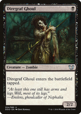 Diregraf Ghoul [Duel Decks: Blessed vs. Cursed] | Accidentally Cool Games