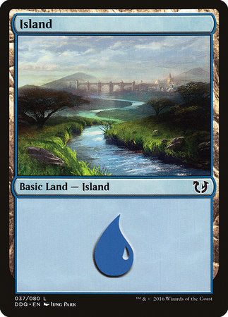 Island (37) [Duel Decks: Blessed vs. Cursed] | Accidentally Cool Games