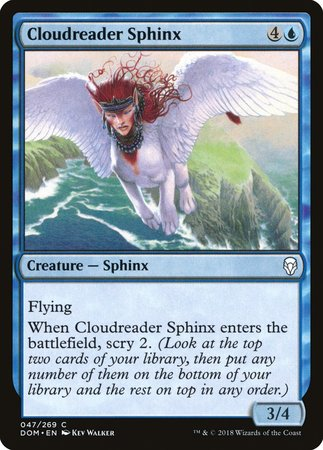Cloudreader Sphinx [Dominaria] | Accidentally Cool Games