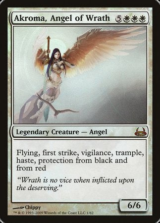 Akroma, Angel of Wrath [Duel Decks: Divine vs. Demonic] | Accidentally Cool Games