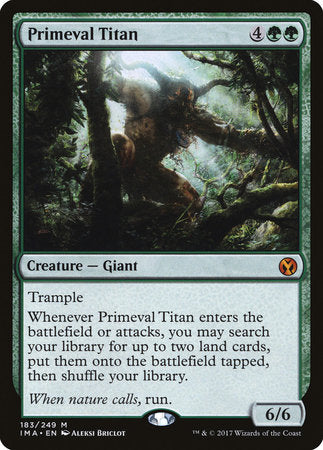 Primeval Titan [Iconic Masters] | Accidentally Cool Games