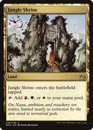 Jungle Shrine [Modern Masters 2017] | Accidentally Cool Games