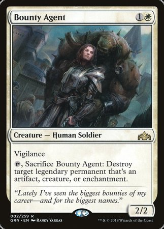 Bounty Agent [Guilds of Ravnica] | Accidentally Cool Games