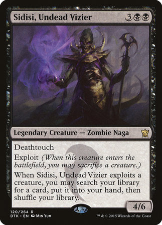 Sidisi, Undead Vizier [Dragons of Tarkir] | Accidentally Cool Games