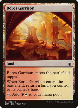 Boros Garrison [Commander Anthology] | Accidentally Cool Games