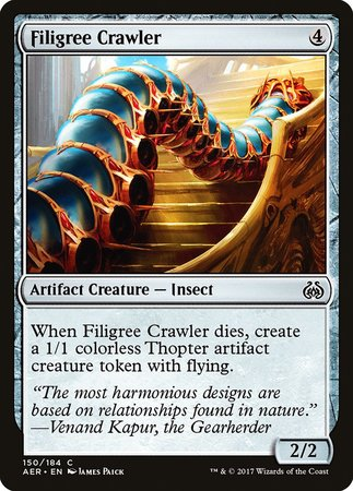 Filigree Crawler [Aether Revolt] | Accidentally Cool Games