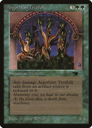 Argothian Treefolk [Antiquities] | Accidentally Cool Games