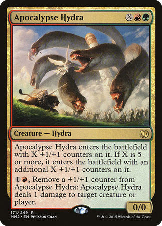 Apocalypse Hydra [Modern Masters 2015] | Accidentally Cool Games