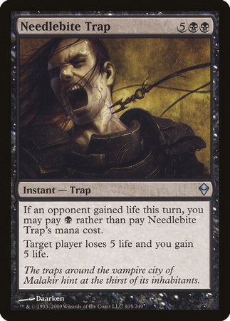 Needlebite Trap [Zendikar] | Accidentally Cool Games