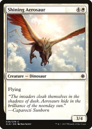 Shining Aerosaur [Ixalan] | Accidentally Cool Games