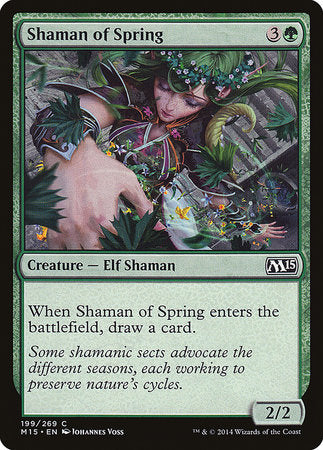 Shaman of Spring [Magic 2015] | Accidentally Cool Games