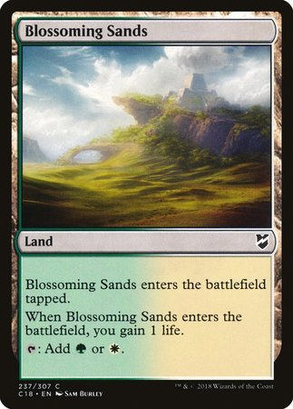 Blossoming Sands [Commander 2018] | Accidentally Cool Games