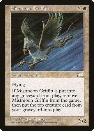 Mistmoon Griffin [Weatherlight] | Accidentally Cool Games