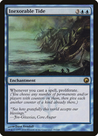 Inexorable Tide [Scars of Mirrodin] | Accidentally Cool Games