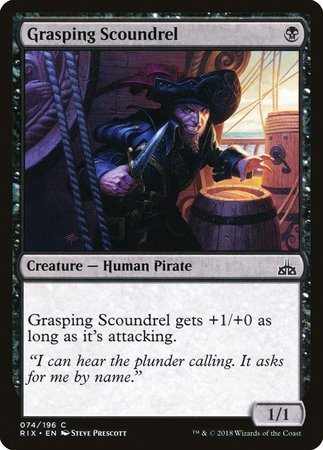 Grasping Scoundrel [Rivals of Ixalan] | Accidentally Cool Games