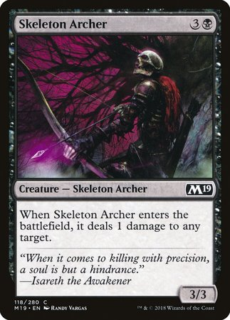 Skeleton Archer [Core Set 2019] | Accidentally Cool Games