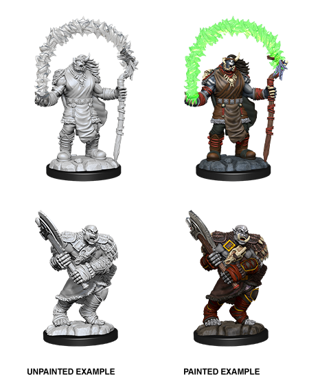 D&D Nolzur's Marvelous Miniatures: Orc Adventurers | Accidentally Cool Games