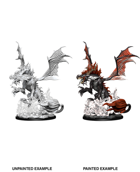 Pathfinder Deep Cuts Miniatures: Nightmare Dragon | Accidentally Cool Games