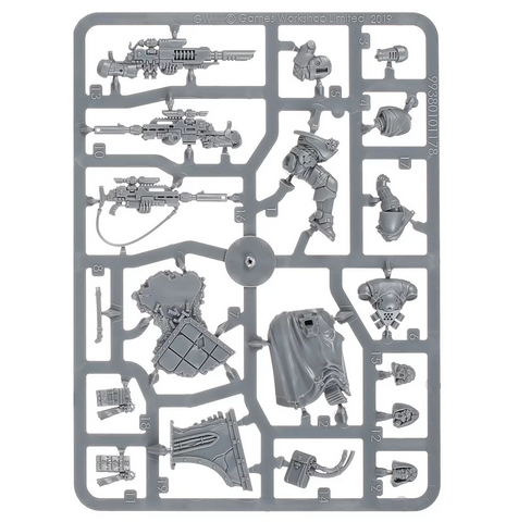 Space Marines Primaris Eliminators Accidentally Cool Games 1.5 inch (38 mm) thick tray with 33x 2 1/8 x 1 1/4 inch (53 x 31 mm) cut outs. space marines primaris eliminators