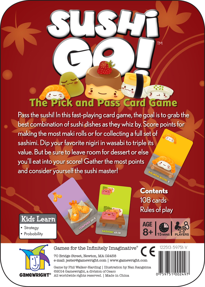 Sushi Go! | Accidentally Cool Games