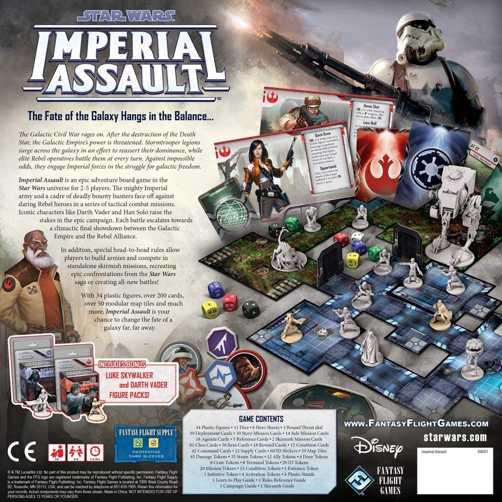 Star Wars: Imperial Assault | Accidentally Cool Games