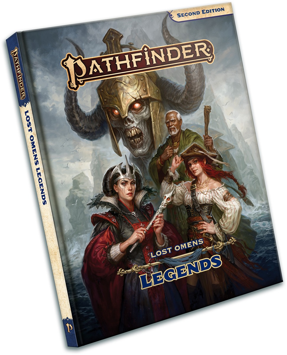 Pathfinder Lost Omens: Legends | Accidentally Cool Games