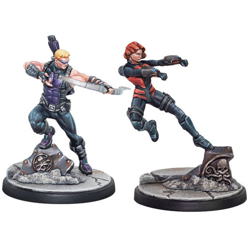Marvel Crisis Protocol Hawkeye Black Widow Accidentally Cool Games Crisis protocol, a tabletop hobby miniatures game of climactic combat! marvel crisis protocol hawkeye black widow