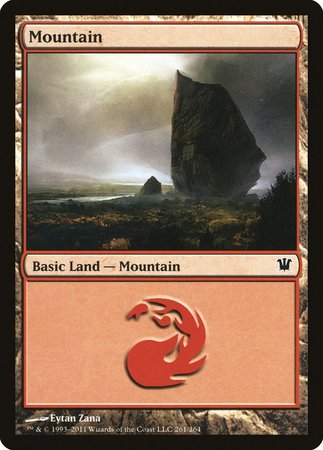 Mountain (261) [Innistrad] | Accidentally Cool Games