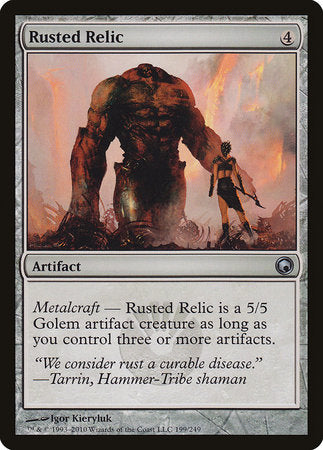 Rusted Relic [Scars of Mirrodin] | Accidentally Cool Games