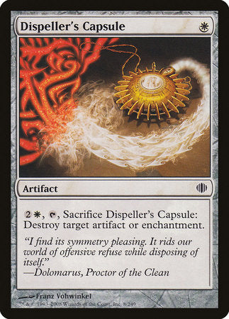 Dispeller's Capsule [Shards of Alara] | Accidentally Cool Games