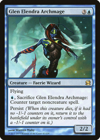 Glen Elendra Archmage [Modern Masters] | Accidentally Cool Games