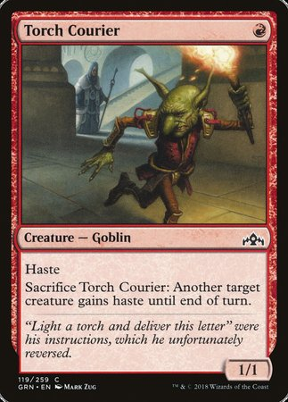 Torch Courier [Guilds of Ravnica] | Accidentally Cool Games