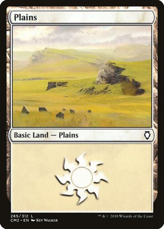Plains (285) [Commander Anthology Volume II] | Accidentally Cool Games