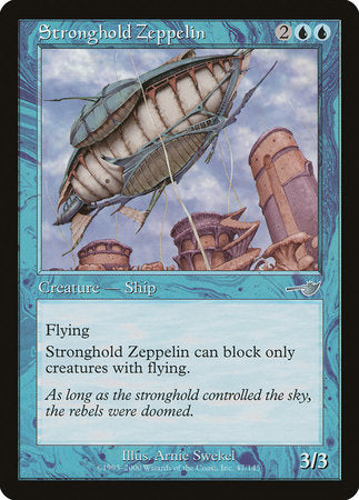Stronghold Zeppelin [Nemesis] | Accidentally Cool Games