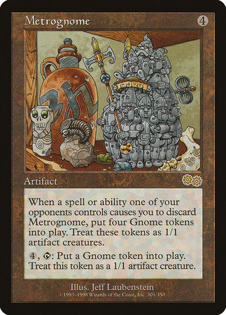 Metrognome [Urza's Saga] | Accidentally Cool Games