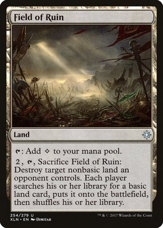 Field of Ruin [Ixalan] | Accidentally Cool Games