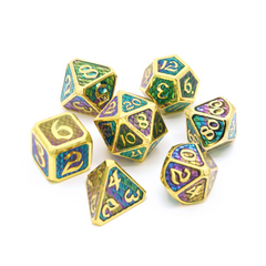 Die Hard Dice RPG Metal Dice Set - Drakona Khaos Hemera | Accidentally Cool Games
