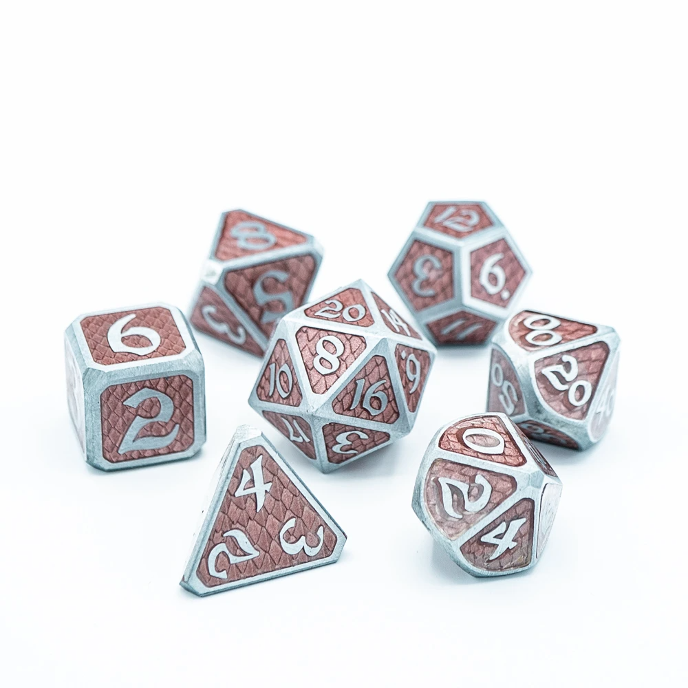 Die Hard Dice RPG Metal Dice Set - Drakona Eldric Zephyros | Accidentally Cool Games