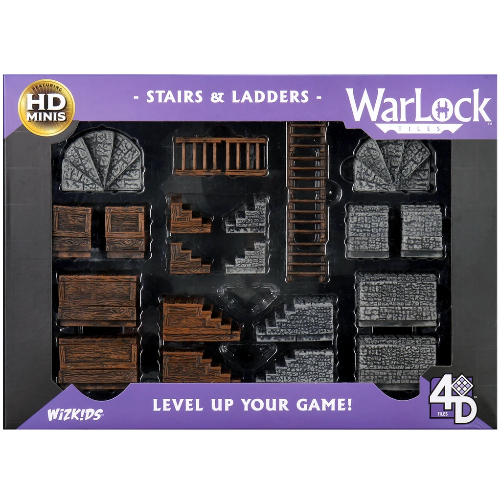 WarLock Tiles: Stairs & Ladders | Accidentally Cool Games