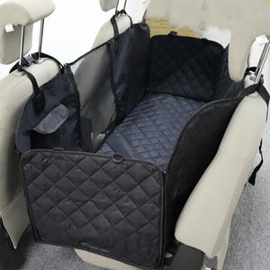 Car Seat Cover Mesh Waterproof Rear Back Seat Mat For Dogs
