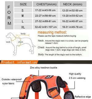 Strong Dog Harness For Dogs Training