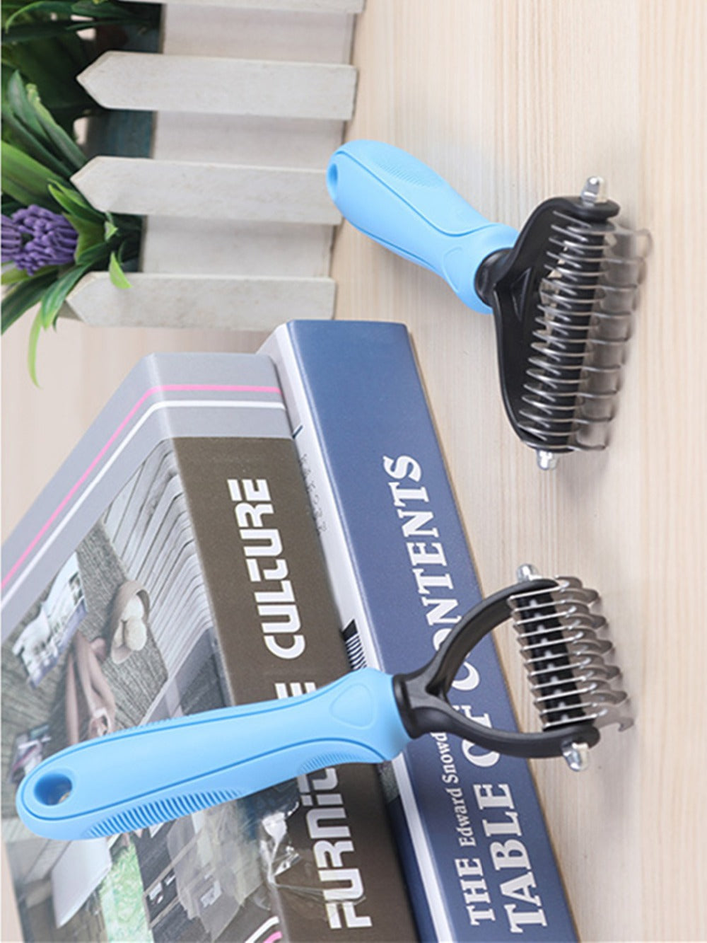 Hair Removal Dog Detangler Grooming Brush