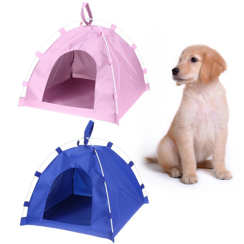Portable Folding Kennel Bed