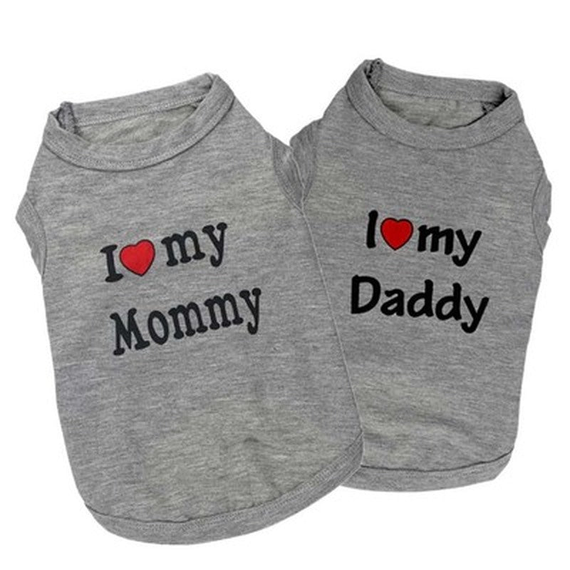 Mommy and Daddy Dog T Shirts