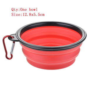 Outdoor Travel Folding Silicone Bowl