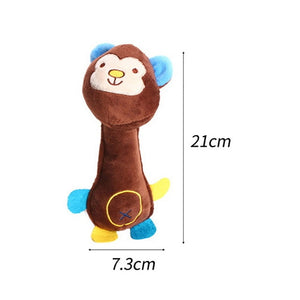 Interactive Pull Bone Shaped Canvas Toy Used For Training