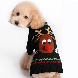 Christma Sweater For Dogs