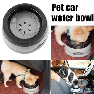 Dog Water Bowl Made For Car Travel