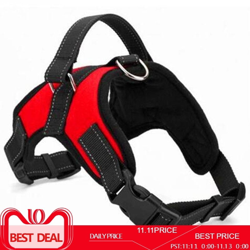 Adjustable Nylon Dog Harness Vest