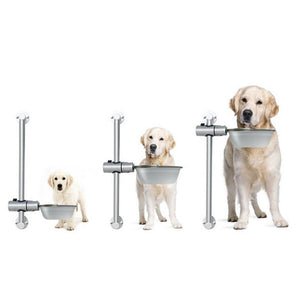 Adjustable Stainless Steel Dog Feeding bowl